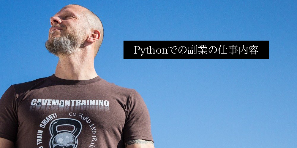 Pythonでの副業の仕事内容
