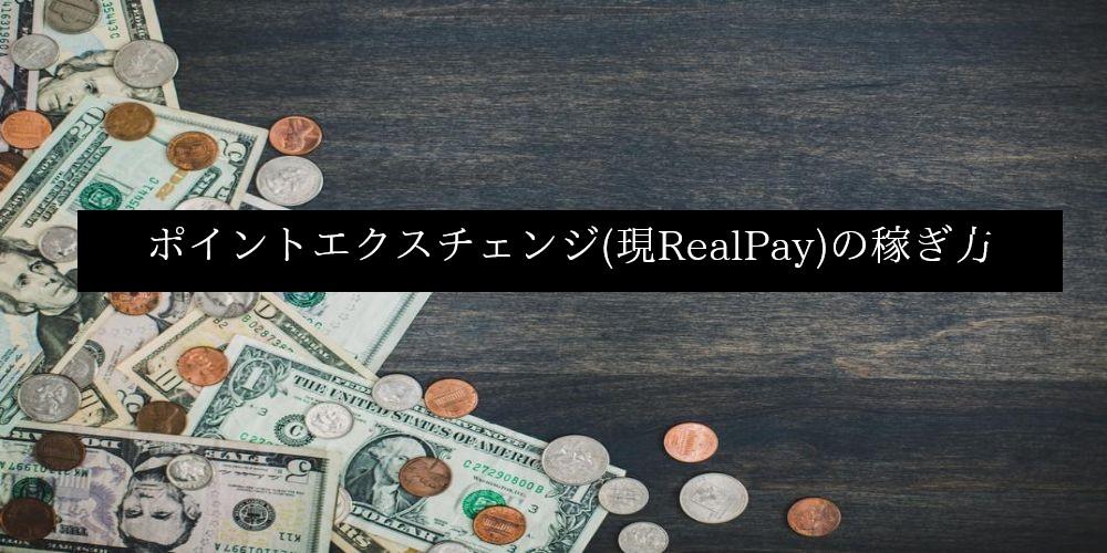 ポイントエクスチェンジ(現RealPay)の稼ぎ方